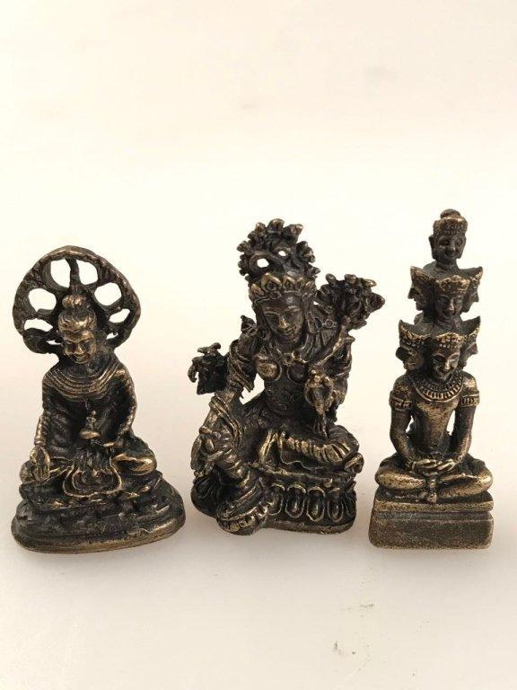 BUDDHA FIGURE (A GROUP)