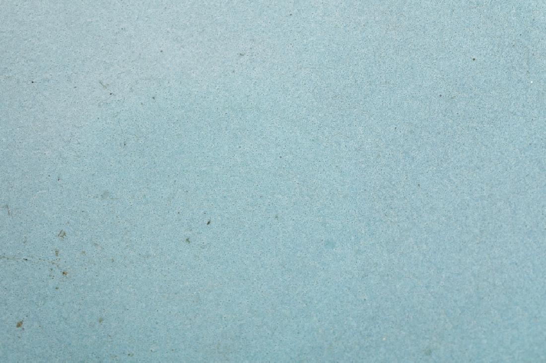 JUN KILN SKYBLUE GLAZE PLATE - 10