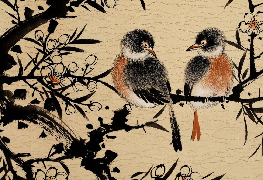 BIRD AND FLOWER PAINTING - 7