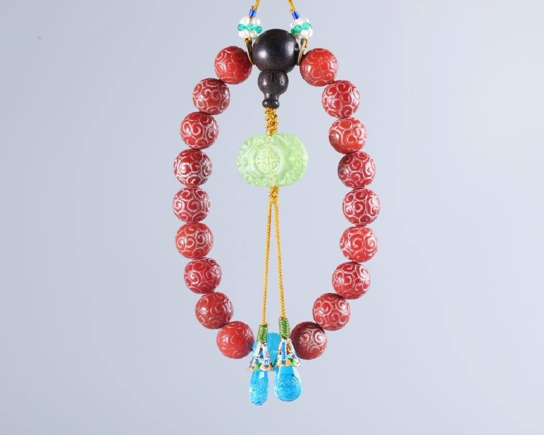 AGATE 18 BEADS - 5