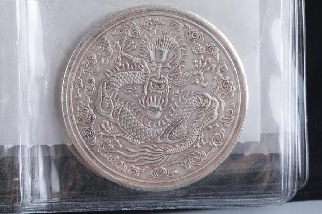 A GROUP OF SILVER COIN - 9