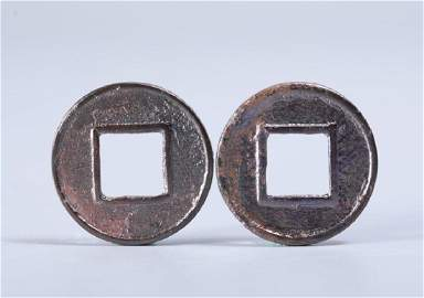 pieces of copper coins