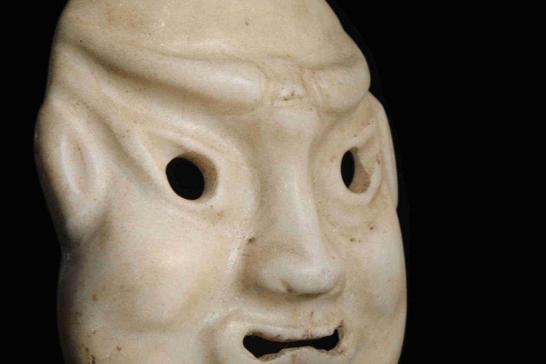 STONE CARVED MASK - 3