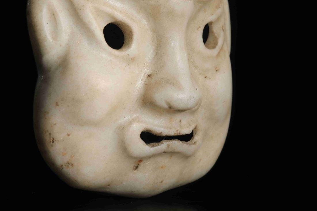 STONE CARVED MASK - 4