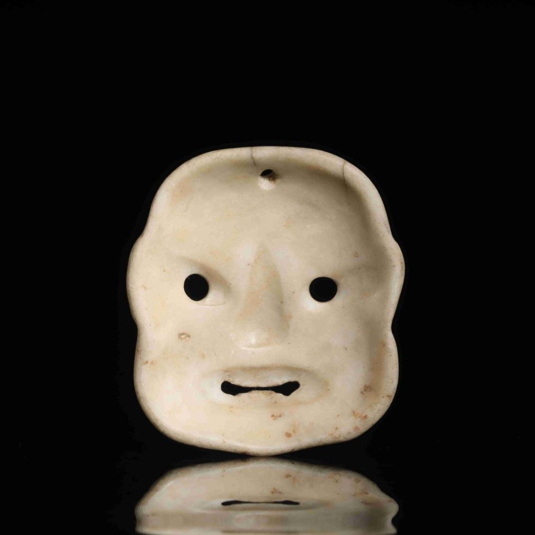 STONE CARVED MASK - 5