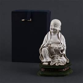 Song Hutian Kiln Unburnt Buddha Statue