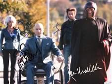 XMEN X2  Cast signed scene photo 11x14 photo