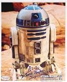 STAR WARS Empire Strikes Back  Kenny Baker signed