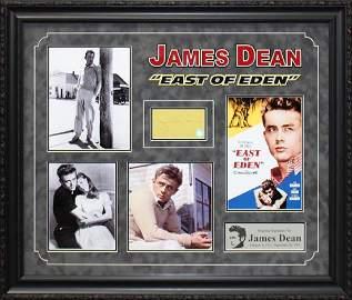 """JAMES DEAN - """"East of Eden"""" Rare, Custom Framed"""