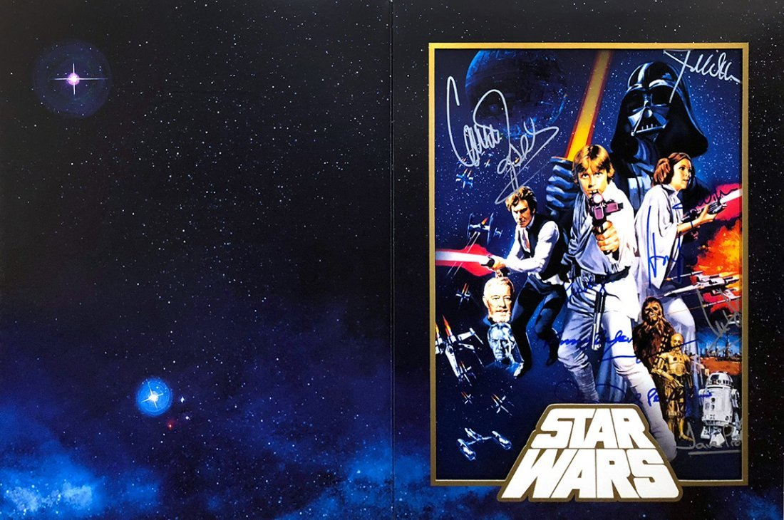 """""""STAR WARS: A New Hope"""" - RARE Cast signed LE"""