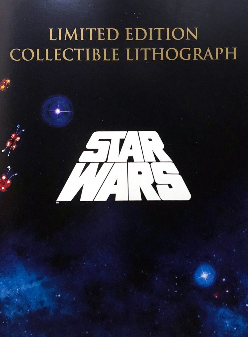 """""""STAR WARS: A New Hope"""" - RARE Cast signed LE - 2"""