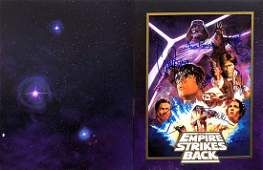 """""""STAR WARS: The Empire Strikes Back"""" - RARE Cast signed"""