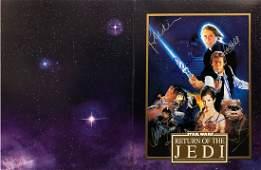 """STAR WARS: Return of the Jedi"" - RARE Cast signed LE"