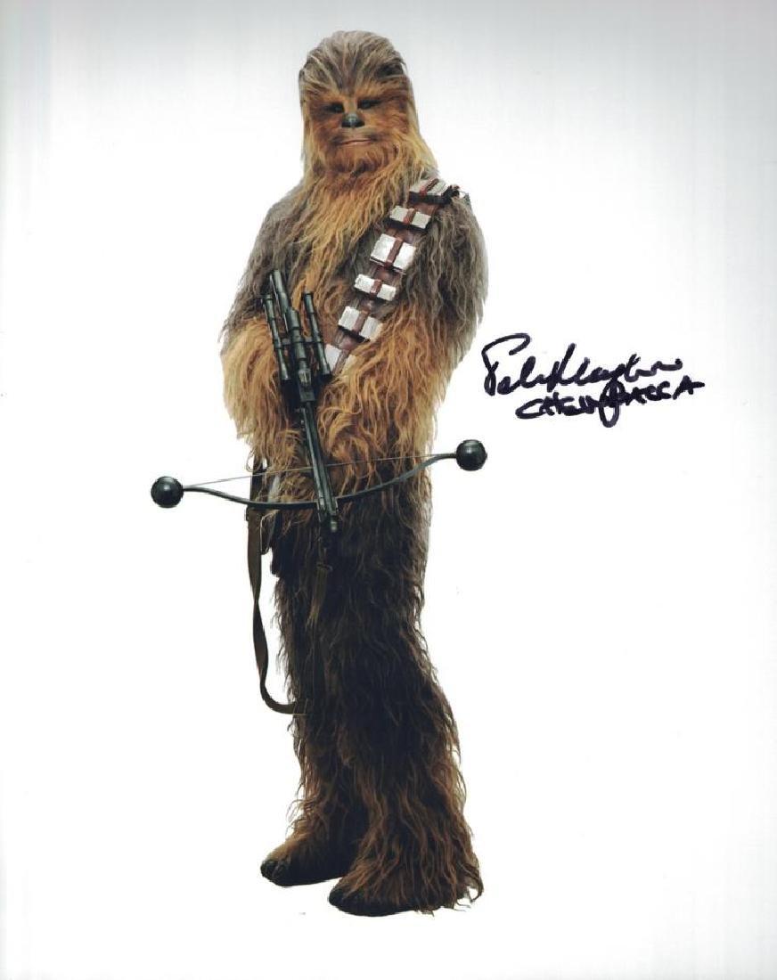 """STAR WARS: The Last Jedi"" 'CHEWBACCA' Signed 8x10"