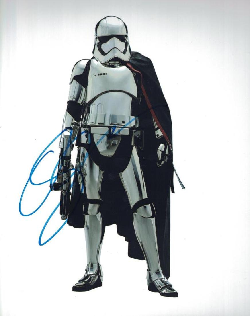 """STAR WARS: The Last Jedi"" Gwendoline Christie Signed"