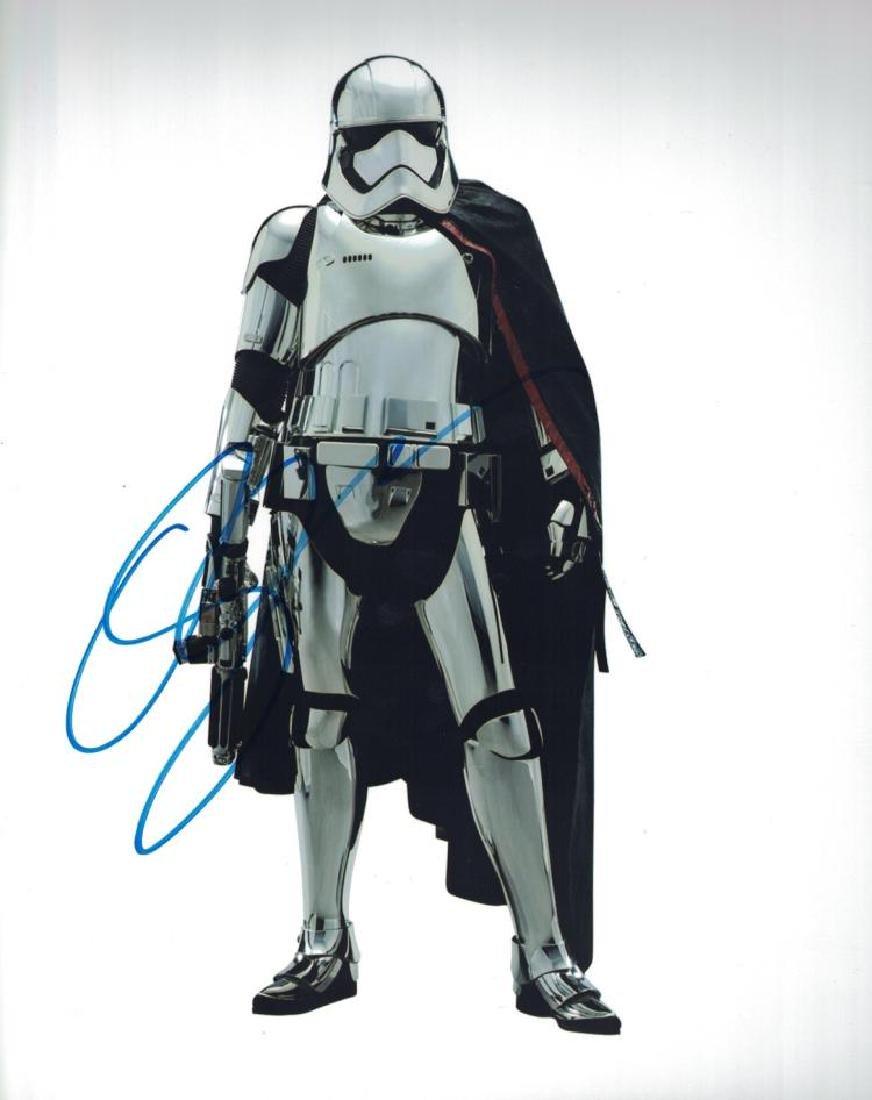 """""""STAR WARS: The Last Jedi"""" Gwendoline Christie Signed"""