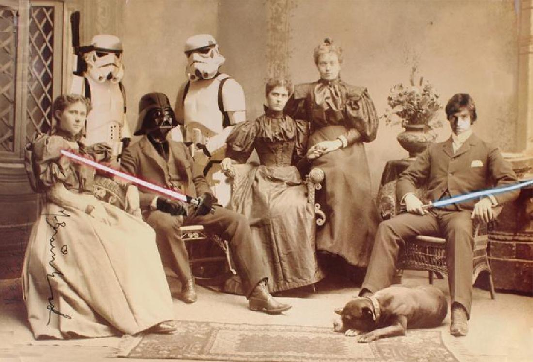 """MR. BRAINWASH"" - 'Star Wars: Reunion' MBW SIGNED"