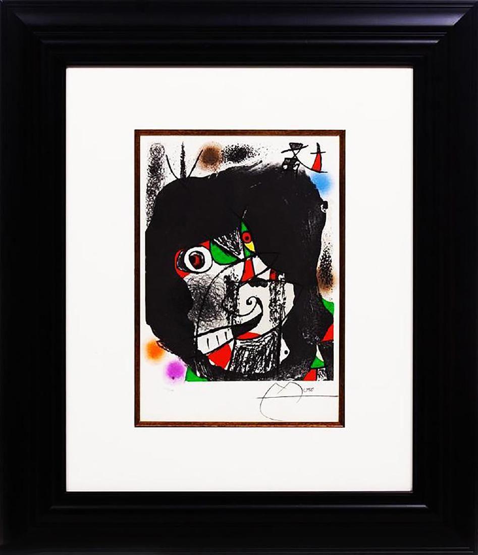 JOAN MIRO - 'Revolution II' H/S LE (1970) Lithograph