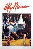 LeROY NEIMAN 'The President's Birthday Party'