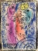 "MARC CHAGALL - RARE ""Derriere le Miroir No. 132"" Litho"