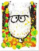 TOM EVERHART - 'Snoopy'! H/S LE LARGE Lithograph.