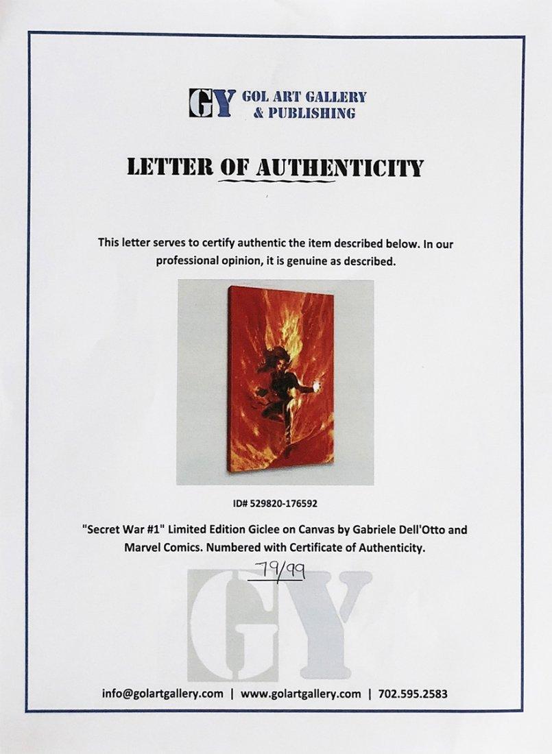 """'MARVEL'S Secret War' - """"Phoenix"""" fiery LE Giclee on - 4"""