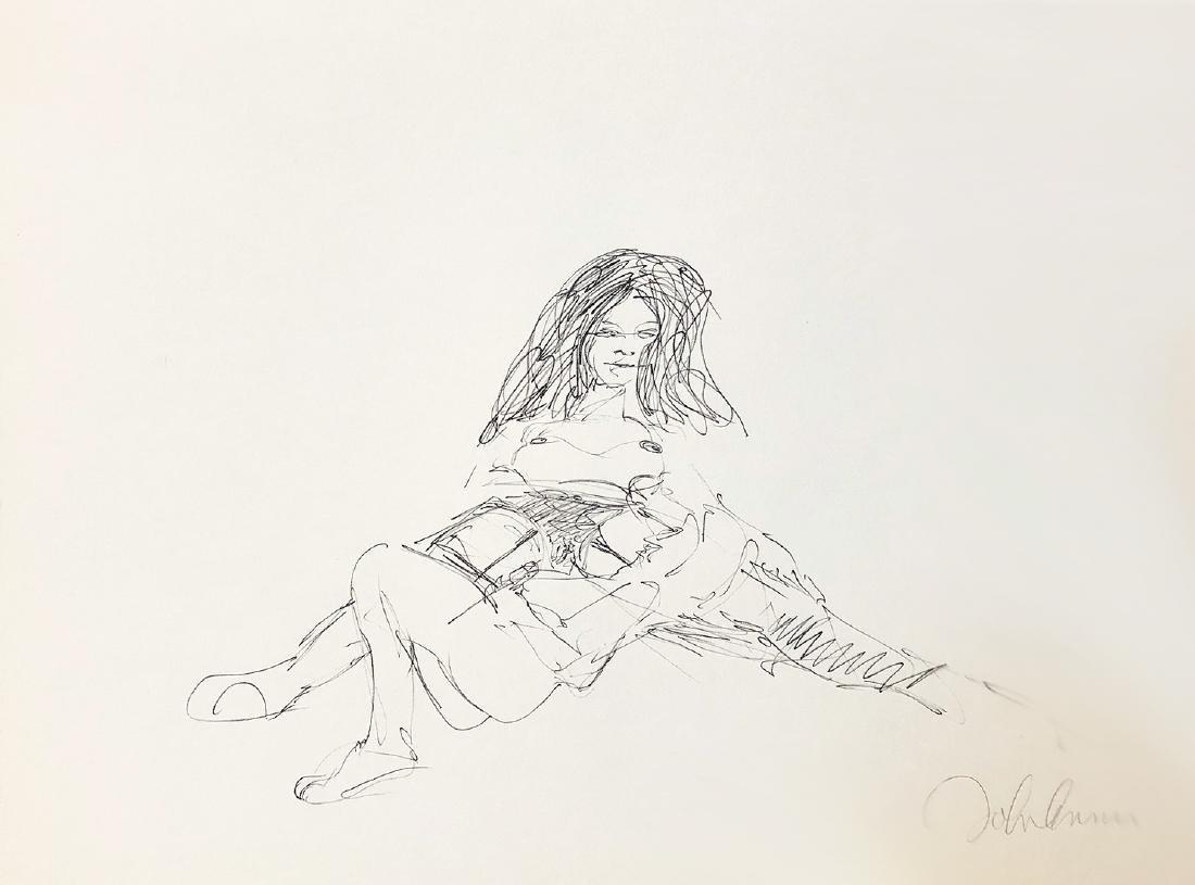 JOHN LENNON - 'Bag One' VIII RARE LE Lithograph