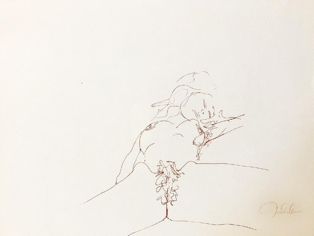 JOHN LENNON - 'Bag One' V RARE LE Lithograph