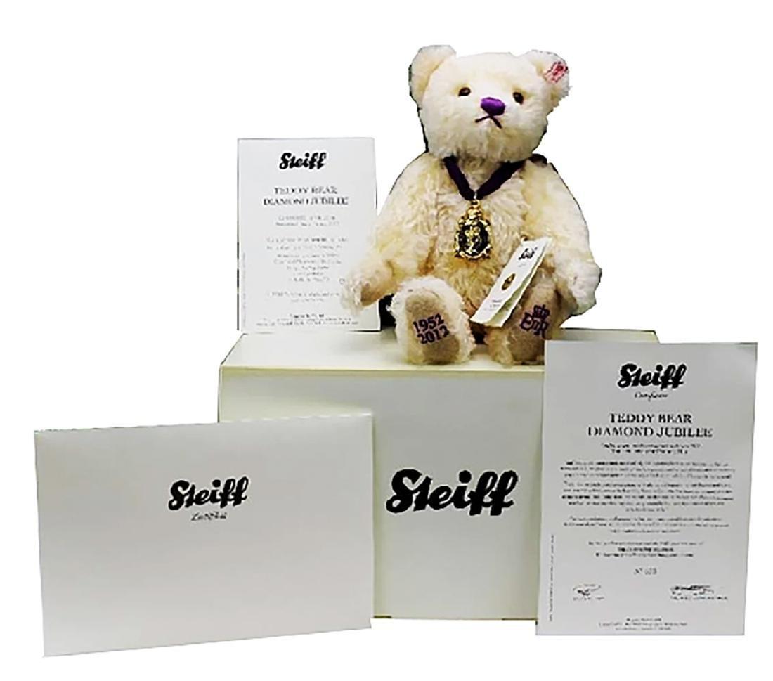 STEIFF - 2012 'Diamond Jubilee' Teddy Bear Original Box