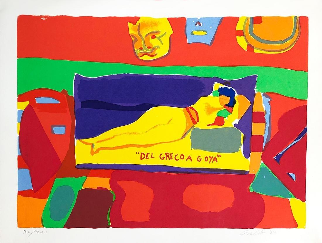 JOHN GRILLO - 'Del Greco A Goya' Rare Colorful H/S LE