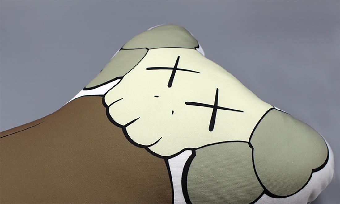 KAWS - BFF Companion (brown) Figurative Pillow! - 4