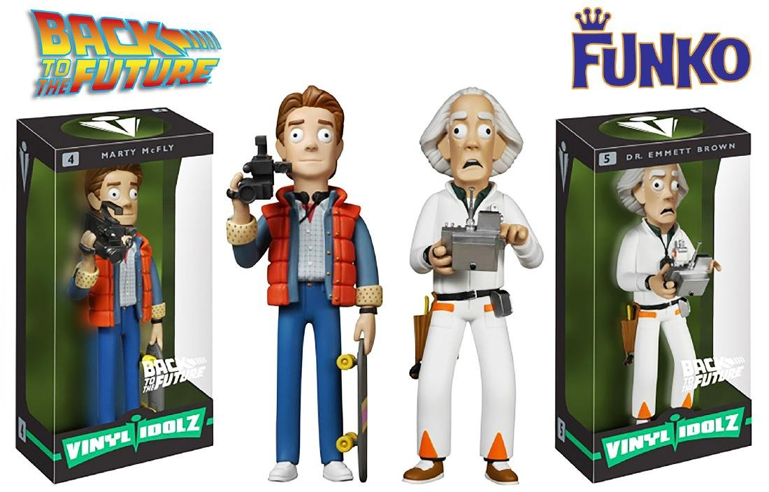 """BACK to the FUTURE"" - Funko Vinyl Idolz 'Marty' and"