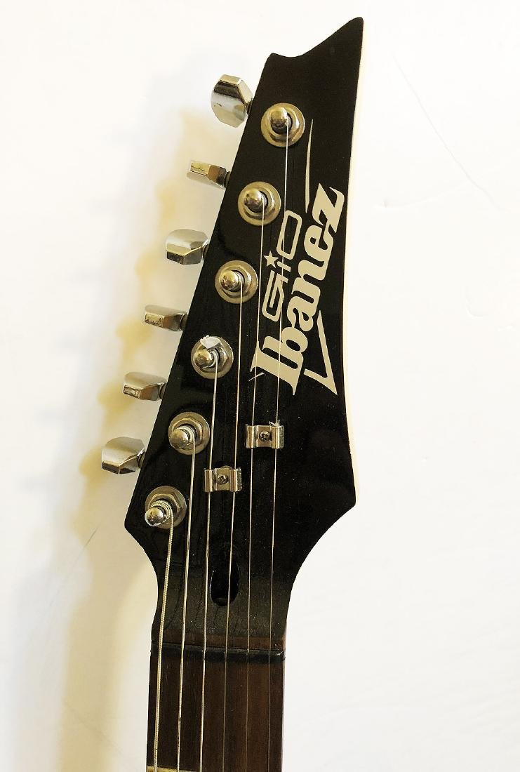 """""""The ROLLING STONES"""" - Ibanez Elec. Guitar signed by - 2"""