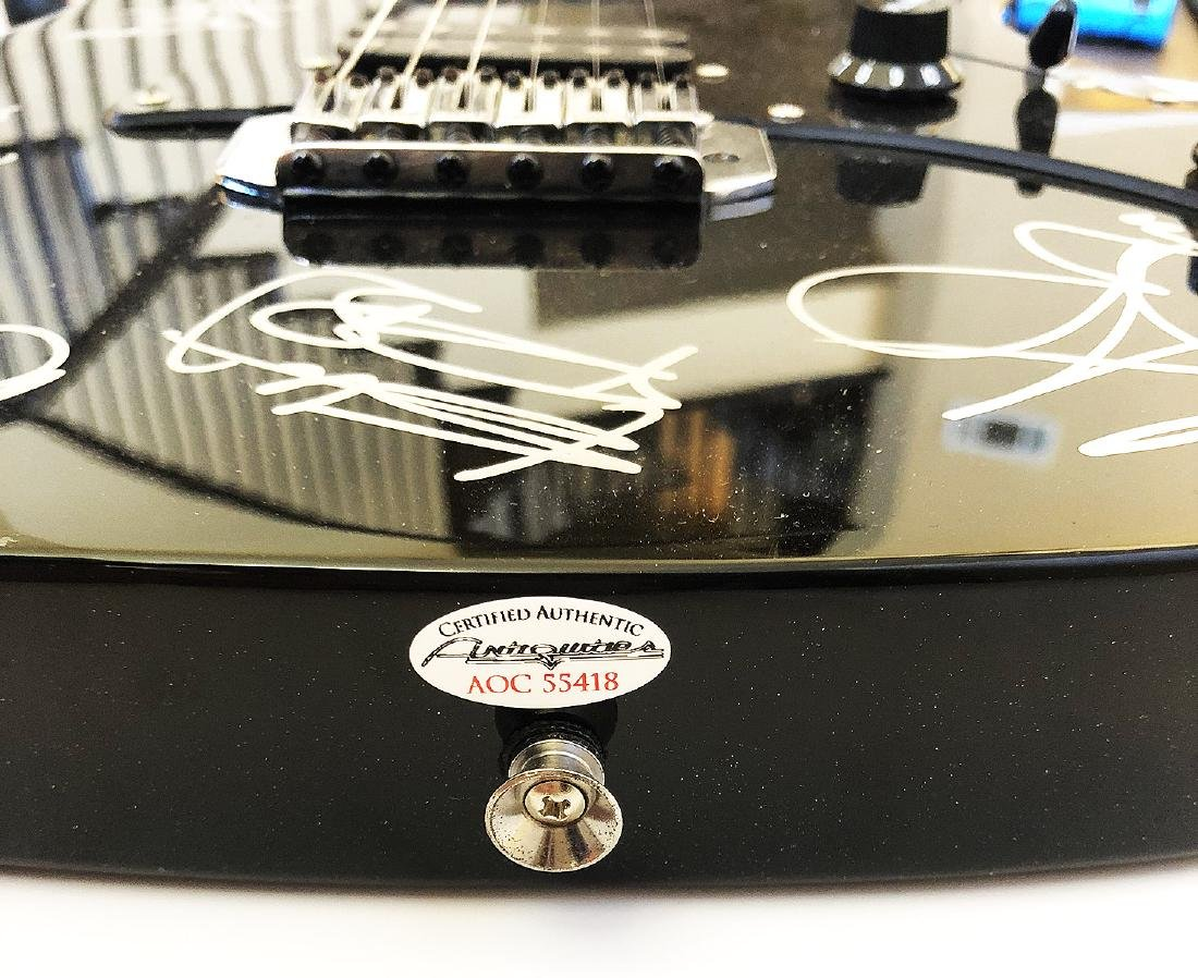 """""""The ROLLING STONES"""" - Ibanez Elec. Guitar signed by - 3"""
