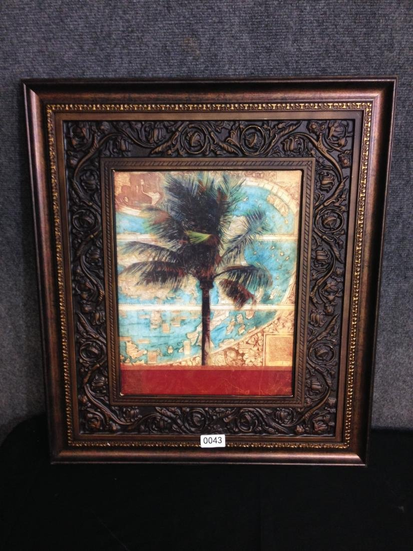 Tropical Tree Print with world - 5
