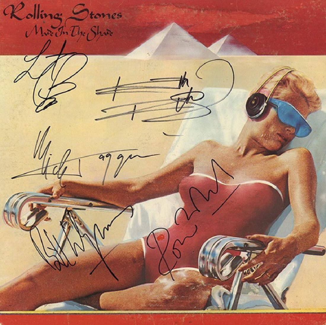 """Rolling Stones """"Made in the Shade"""" Album"""