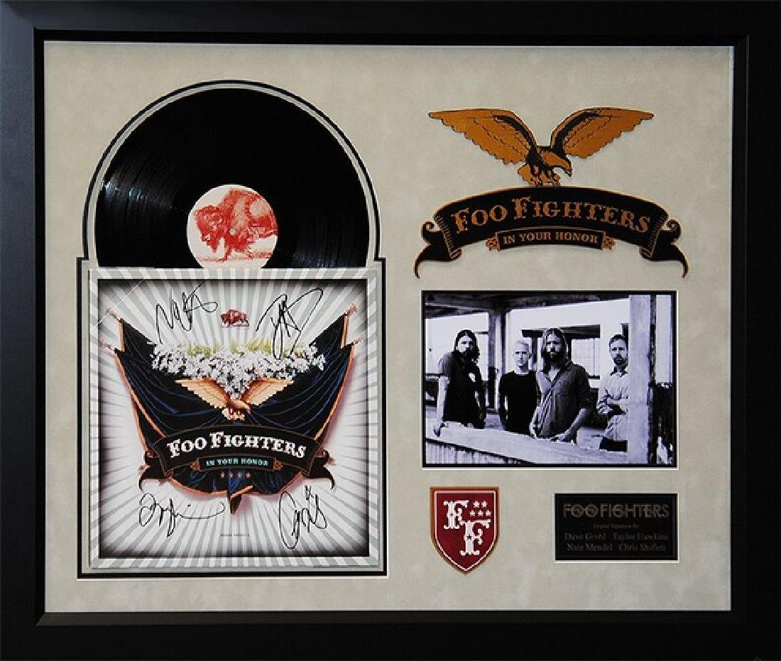 """Foo Fighters """"In Your Honor"""" Signed Album"""