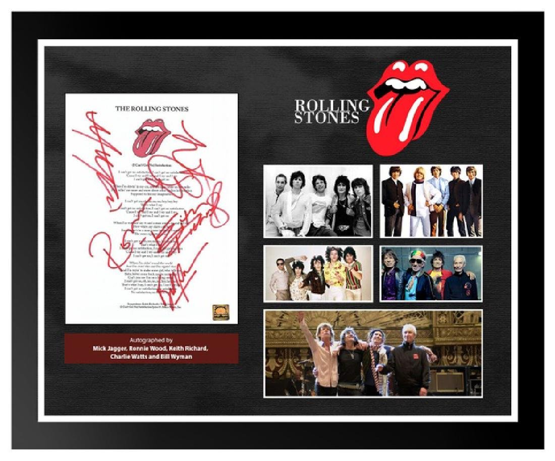 Rolling Stones I Can't Get No Satisfaction Signed