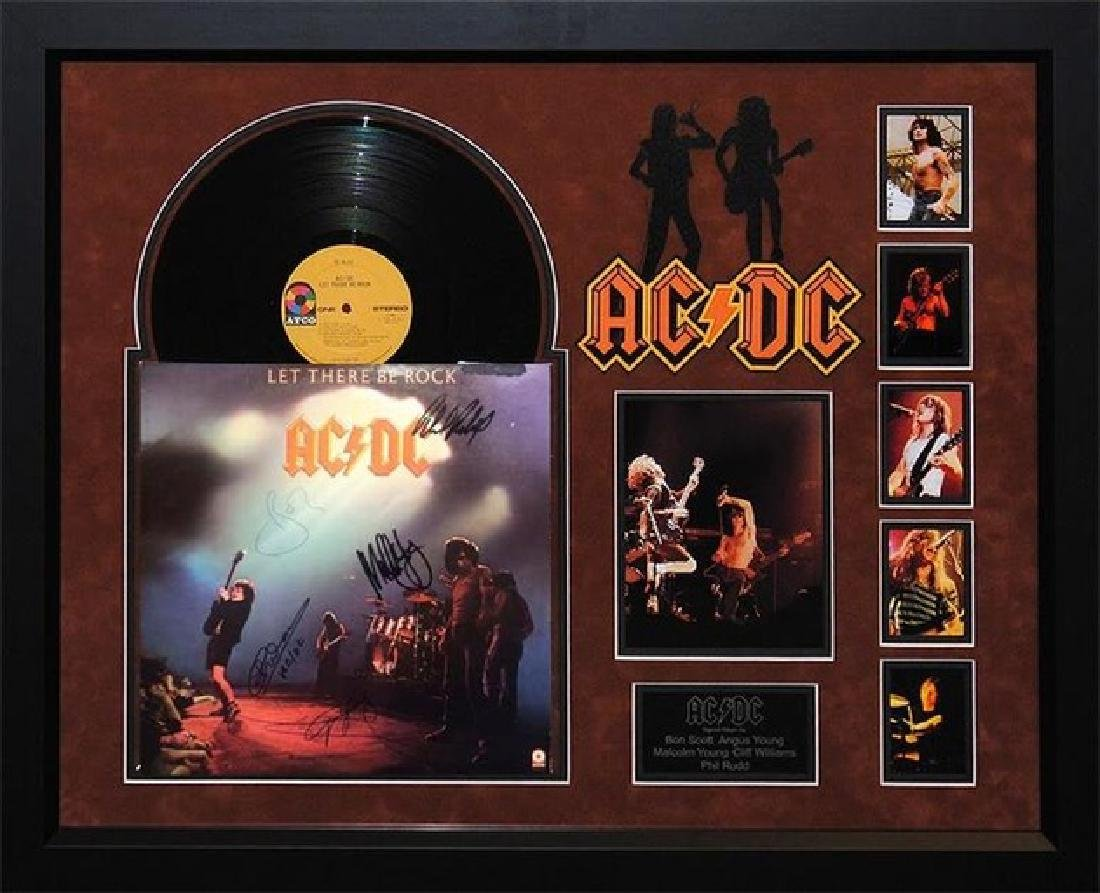 "ACDC ""Let There Be Rock"" Signed Album"