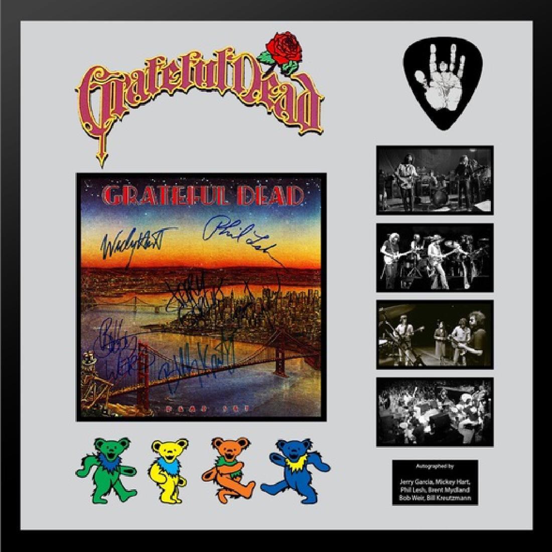 "Grateful Dead ""Dead Set"" Framed Album"
