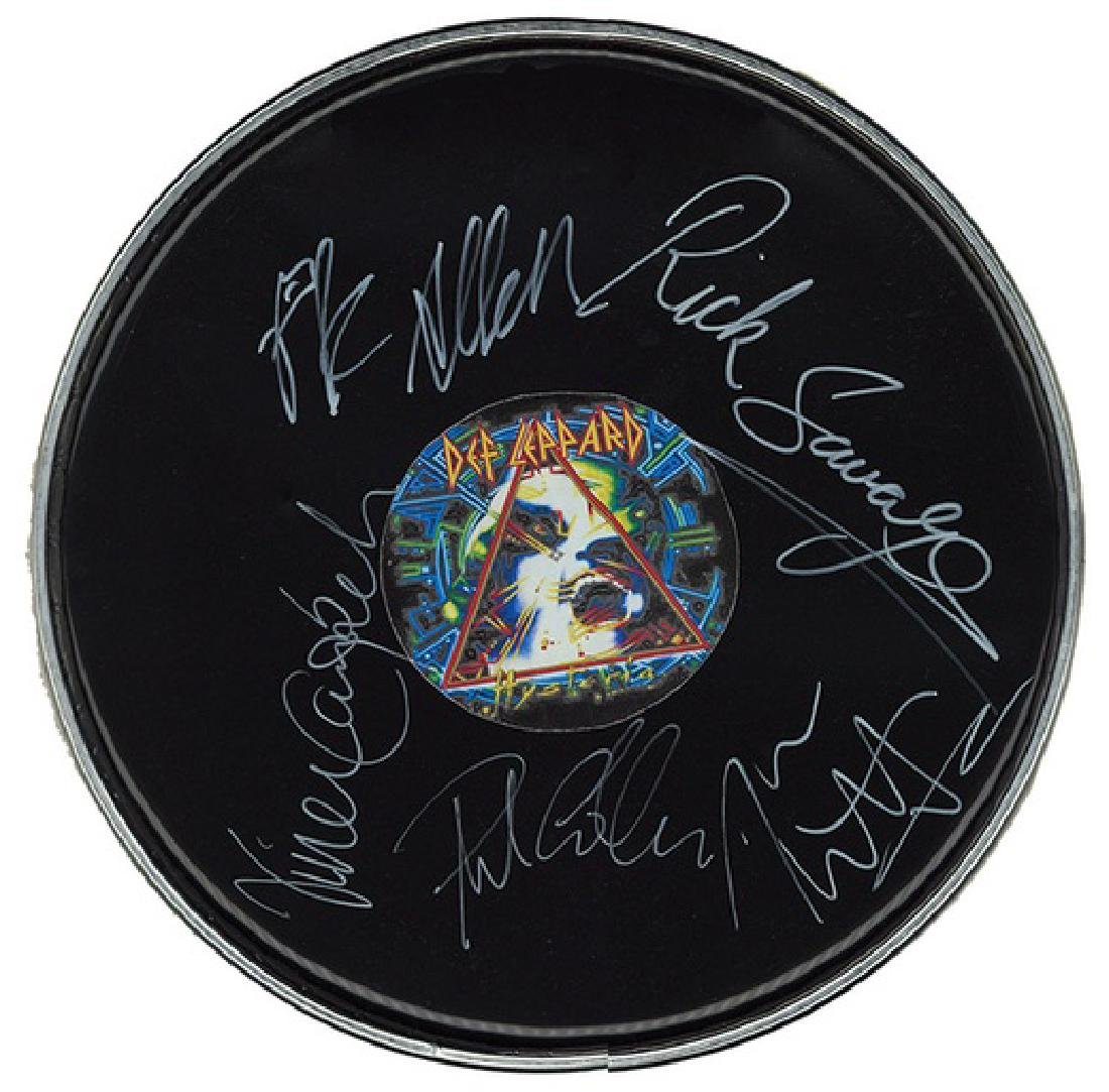 Def Leppard Drum Head Unframed