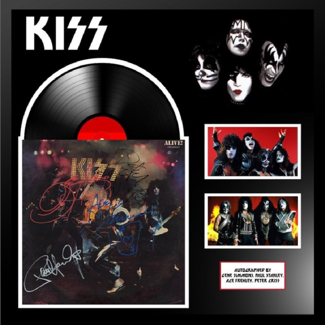 Kiss Alive Framed Album