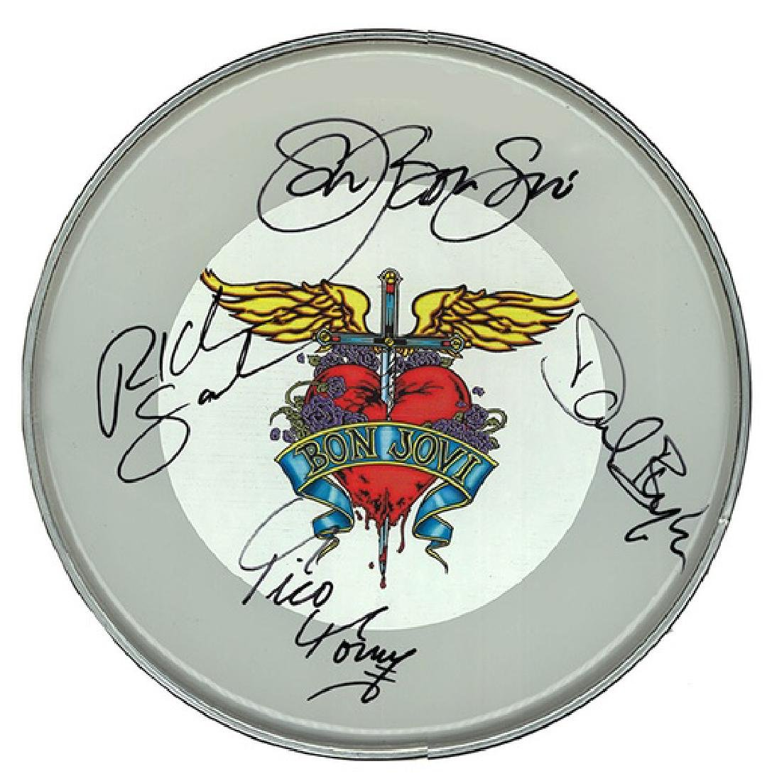 Bon Jovi Drum Head Part 2