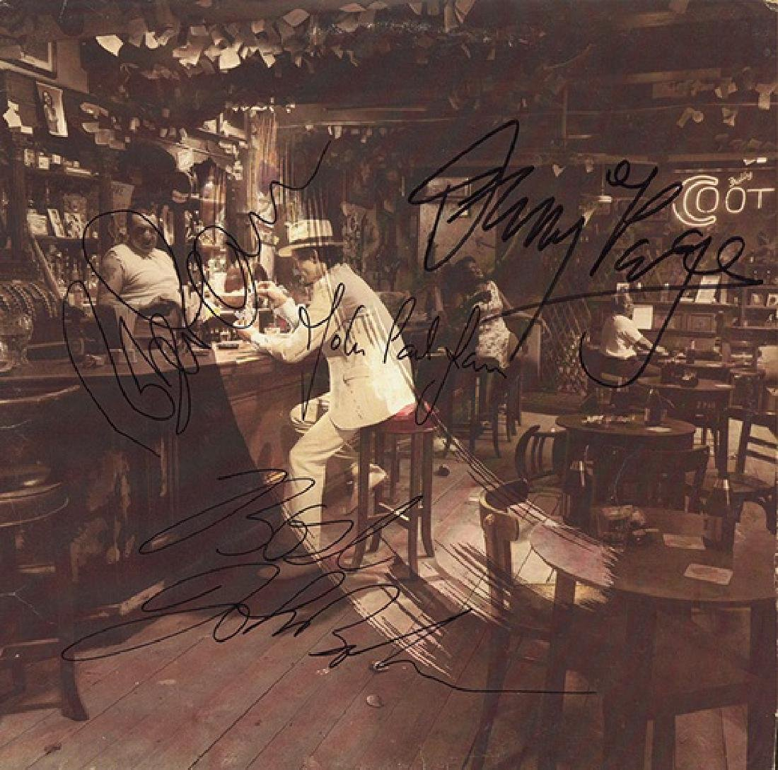 Led Zeppelin In Through The Out Door Album