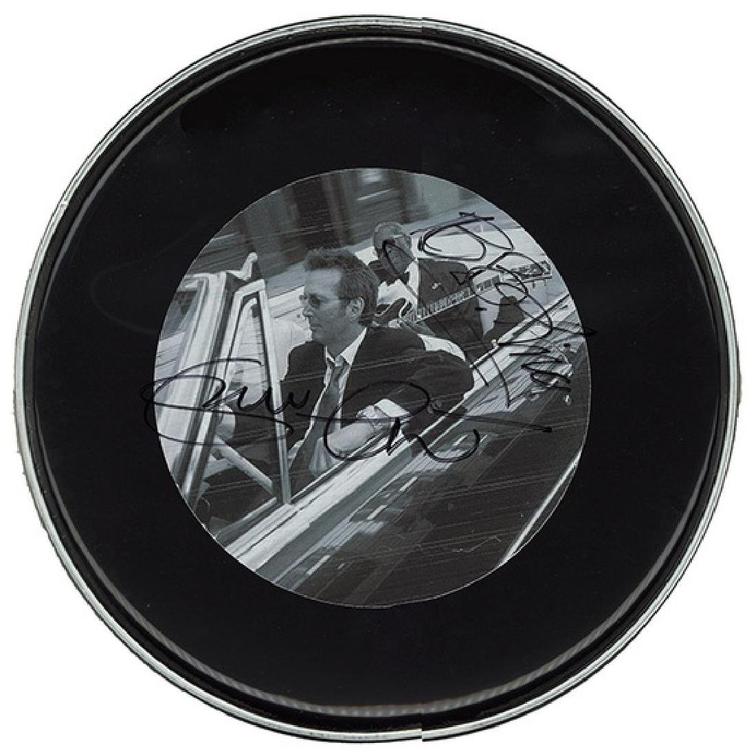 BB King and Eric Clapton Drum Head