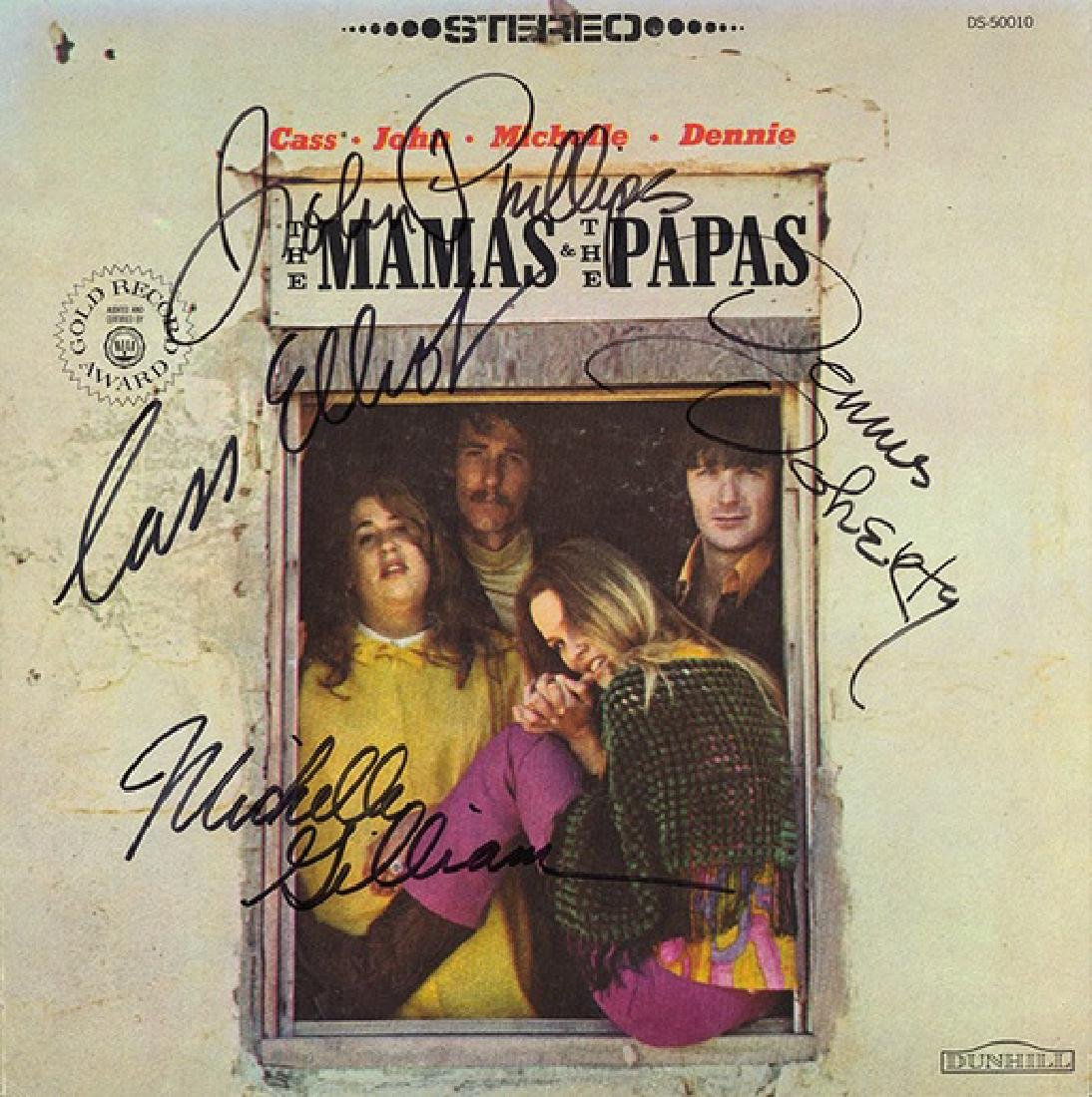 Signed Mamas and Papas Album