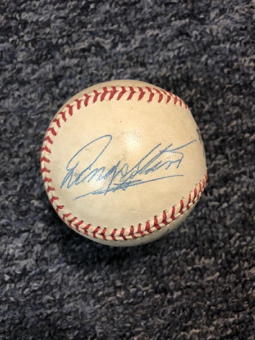 Beatles Signed Baseball