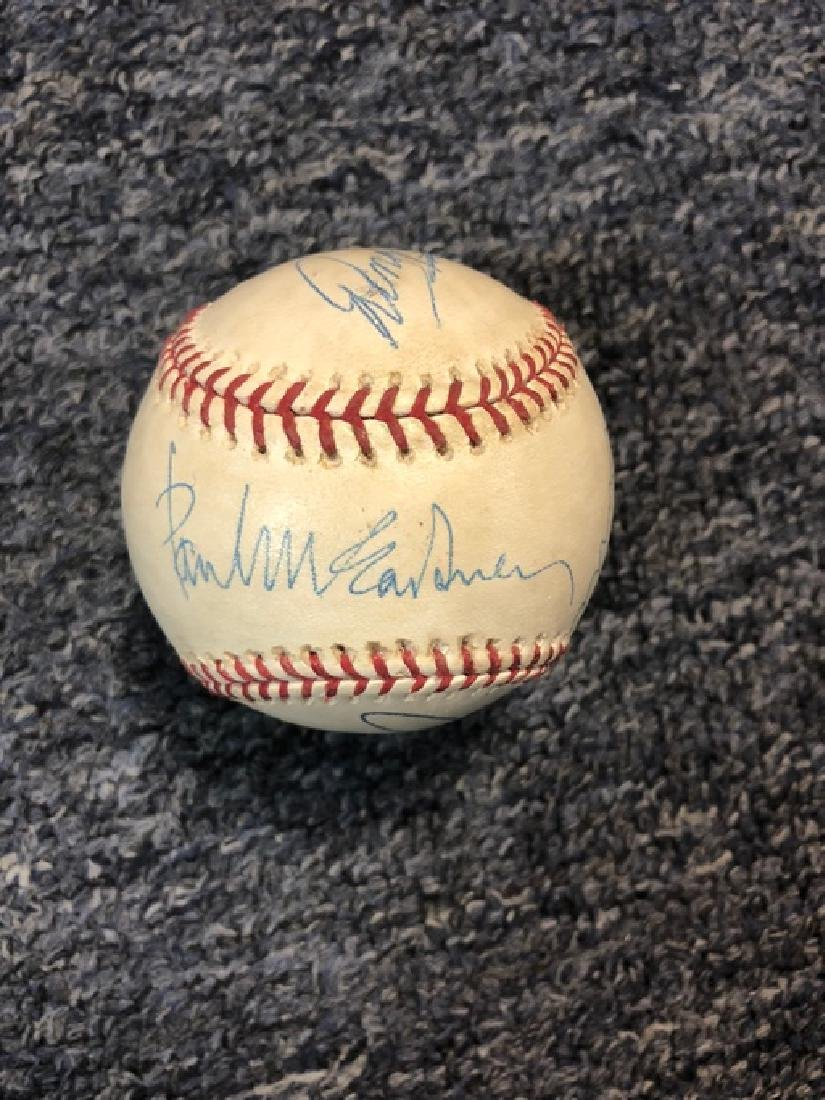 Beatles Signed Baseball - 2