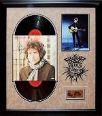 """Bob Dylan """"Blonde on Blonde"""" Signed Album"""