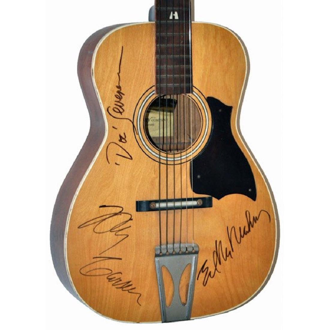 Signed Johnny Carson Guitar